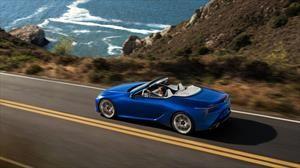 Lexus LC 500 Convertible, la elegancia del viento