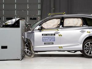Audi Q7 2017 obtiene el Top Safety Pick+ del IIHS