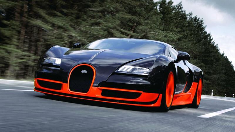 El diseñador del Bugatti Veyron elige sus versiones favoritas
