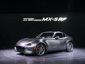 Mazda MX-5 RF 2017, las siglas significan Retractable Fastback