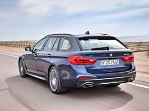BMW Serie 5 Touring, más ligera