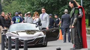 Honda NSX Roadster, el nuevo súper auto de Tony Stark