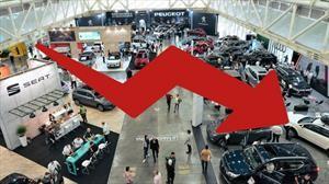 98,9% cayó el mercado automotor en Colombia durante abril