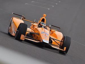 Indy 500: Alonso largará en la segunda fila