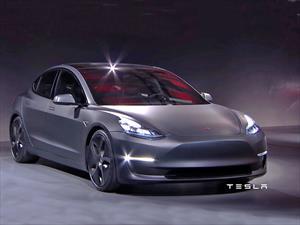 Tesla Model 3 2017: El auto del momento ofrece una autonomía de 350 Km
