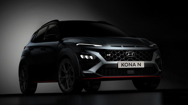 Hyundai lanza las primeras imágenes del Kona N