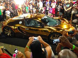Bugatti Veyron víctima del oro del rapero Flo Rida