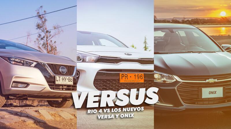Versus: Chevrolet Onix vs. KIA Rio 4 vs. Nissan Versa
