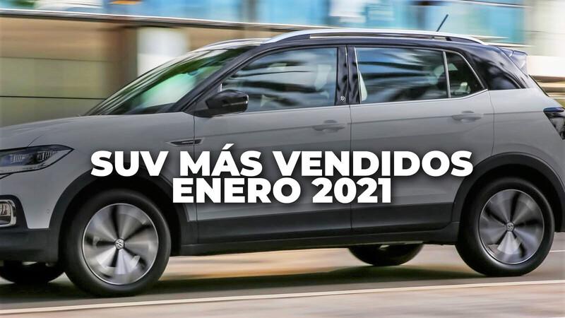 Los SUV más vendidos en Colombia en enero de 2021