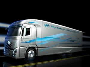 Hyundai Fuel Cell Electric Truck debuta