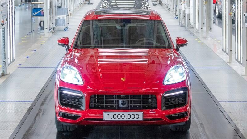Porsche ha producido ya un millón de unidades del Cayenne