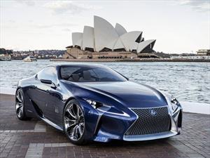 Lexus LF-LC Blue Concept debuta en Australia