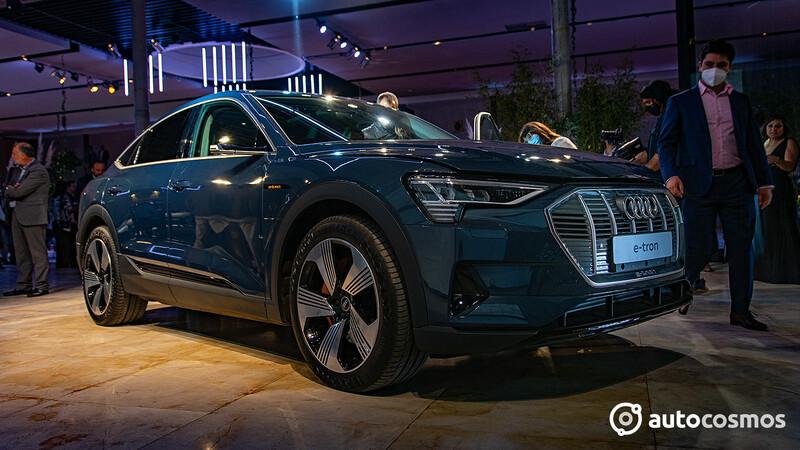 Audi e-tron Sportback 2022 es el primer eléctrico de la firma de las argollas en Chile
