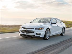 Chevrolet Malibu 2017 estrena caja de 9 velocidades