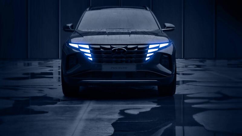 Hyundai Tucson 2021: primeras imágenes develadas