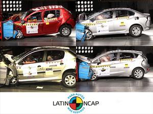 Latin NCAP publica los resultados de sus pruebas de choque
