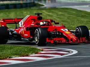 F1 2018: Vettel corrió solo en Canadá