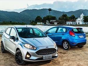 New Ford Fiesta 2018, de Brasil para Argentina