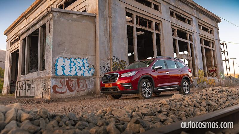 Test Drive Subaru Evoltis 2021, un verdadero utilitario familiar