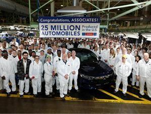 Honda registra 25 millones de vehículos producidos en Estados Unidos