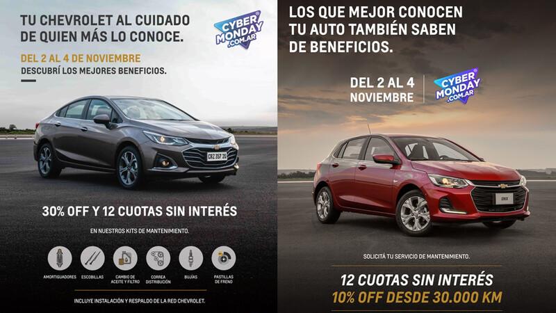 Chevrolet Argentina dirá presente en el Cyber Monday