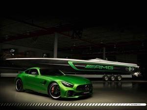 50' Marauder AMG, un bote de lujo basado en el GT R