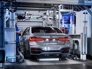 BMW da inicio a la producción del nuevo Serie 7