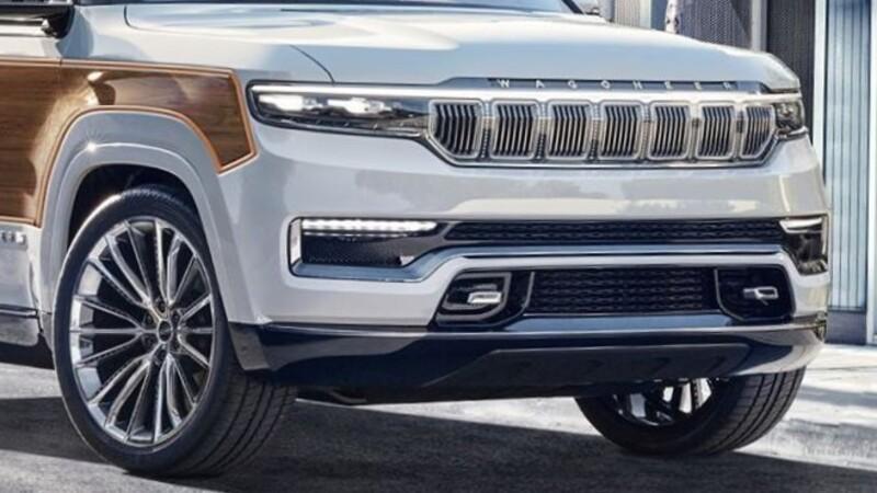 ¿Te imaginás al Jeep Grand Wagoneer Concept con los clásicos paneles de madera?