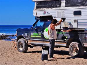 Chilenos recorrerán América utilizando en su vehículo aceite de papas fritas