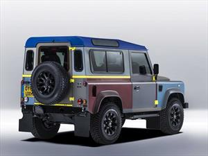 Land Rover Defender al estilo Paul Smith