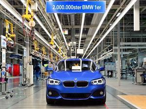BMW Serie 1 alcanza 2 millones de unidades