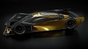 Cómo sería un auto de carreras de Renault para Le Mans