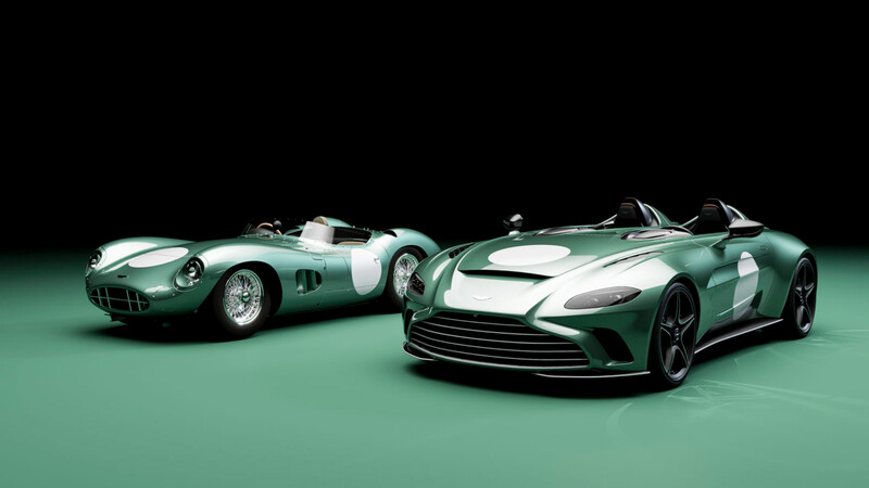 Aston Martin no olvida al DBR1 que ganó Le Mans y lo celebra con el V12 Speedster