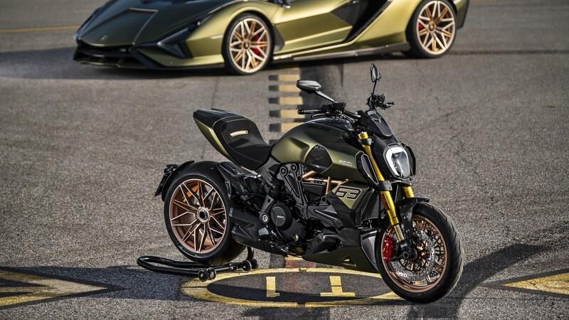 Ducati Diavel 1260 Lamborghini: combinación italiana de primer nivel
