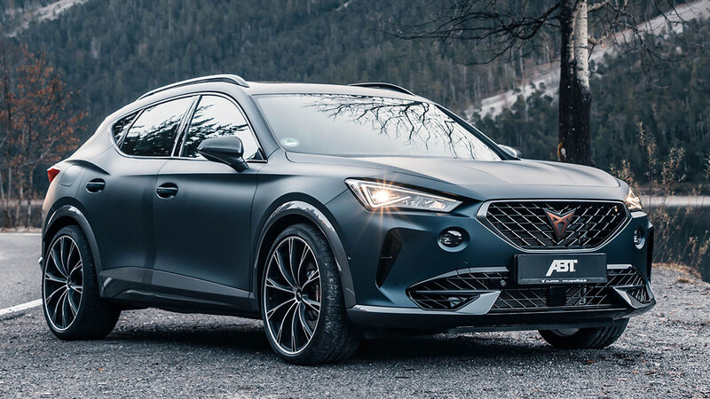 CUPRA Formentor por ABT, aumento de poder para el SUV deportivo