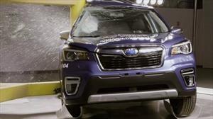 Subaru Forester es el auto más seguro en la historia de las pruebas de choque en Japón