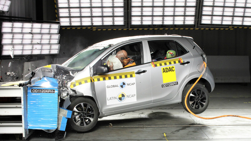 Kia Morning reprueba completamente las pruebas de Latin NCAP