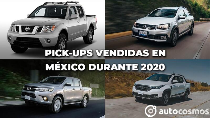 Las pick-ups vendidas en México durante 2020