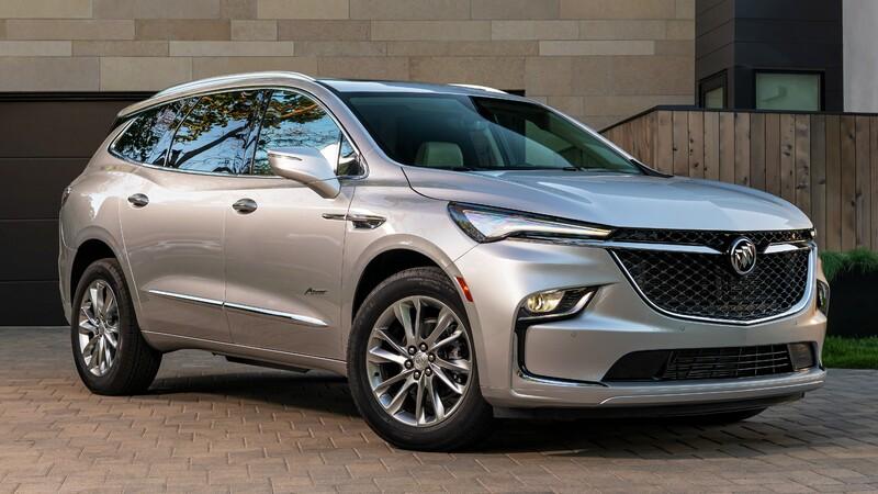 Buick Enclave 2022: estilizado y con más equipamiento
