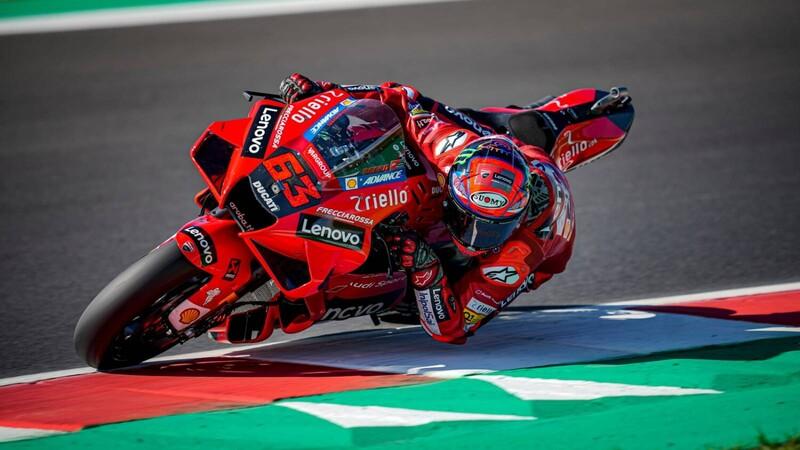 MotoGP 2021: Bagnaia intenta, Quartararo resiste