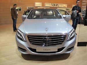 Mercedes-Benz S 500 Plug-in Hybrid ofrece un rendimiento de 33 Km/L