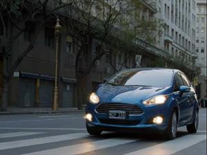 El Nuevo Fiesta de Ford protagonista de una ficción de Ortega