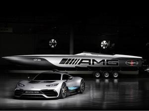 Cigarette Racing 515 Project One es un yate inspirado en Mercedes-AMG