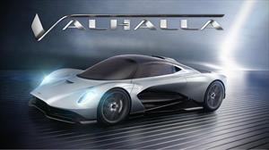 Valhalla es el nombre con el que Aston Martin bautizó al súper auto AM-RB 003