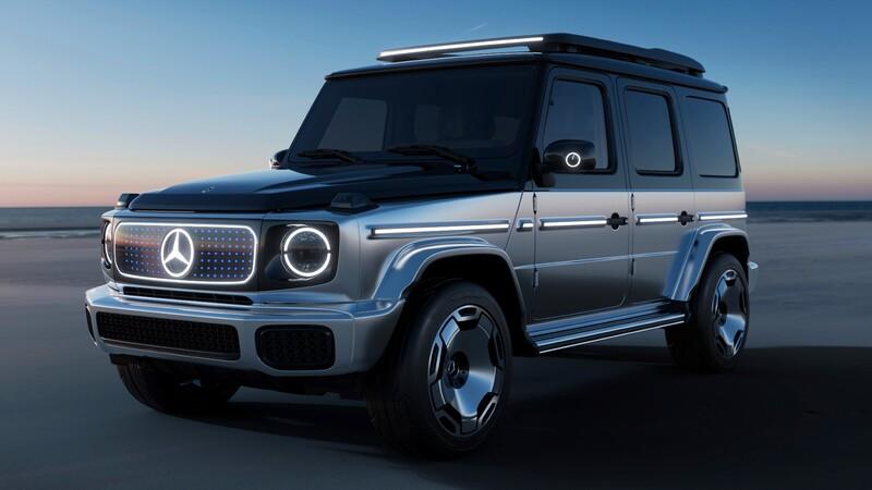 Mercedes-Benz Concept EQG, nos adelanta cómo será el Clase G eléctrico