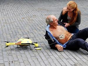 A medio paso del drone ambulancia en Argentina