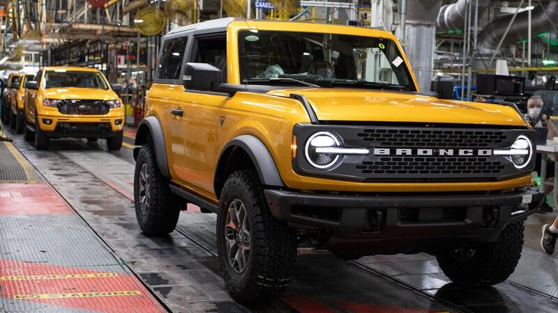 La nueva Bronco inicia su producción oficial en Estados Unidos