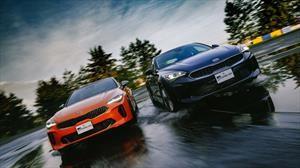 Frente a Frente: Kia Stinger EX vs GT 2019