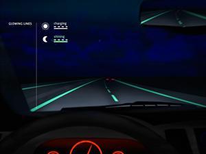 Holandeses proyectan rutas inteligentes que brillan en la oscuridad