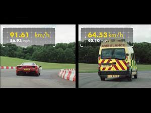 Ferrari 488 GTB 1 Vs Ambulancia ¿quién ganará?